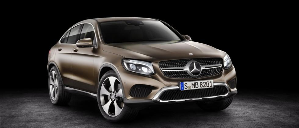 2017 Mercedes-Benz GLC Coupe blends designs 'from two different worlds'