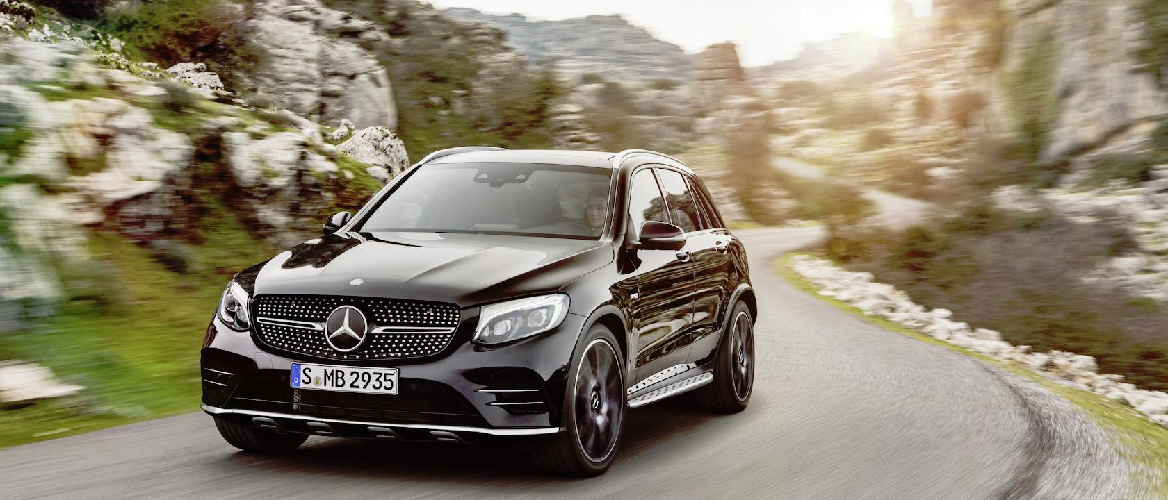Mercedes-AMG GLC 43 gives midsize SUV a V6 biturbo boost ...