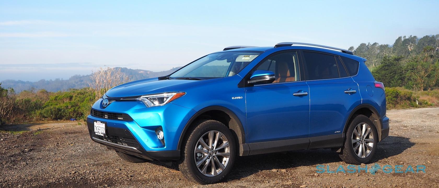 2016 Toyota Rav4 Hybrid Review Slashgear