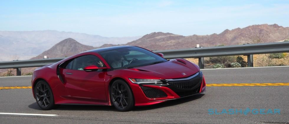 Here come the first 2017 Acura NSX supercars