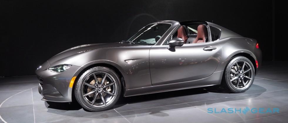 Mazda's Miata RF is a Porsche Targa on a budget, and that's perfect