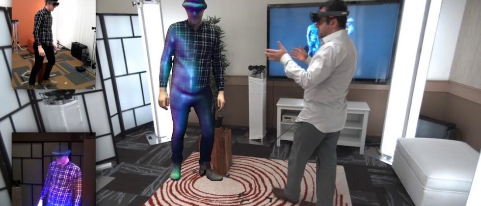 Microsoft demos 'Holoportation' with real-time holograms straight out of Star Wars