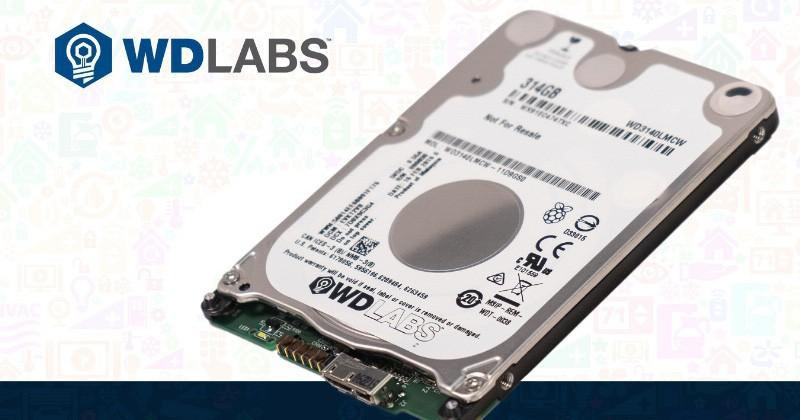Western Digital's 314GB drive offers RPi a low-power solution