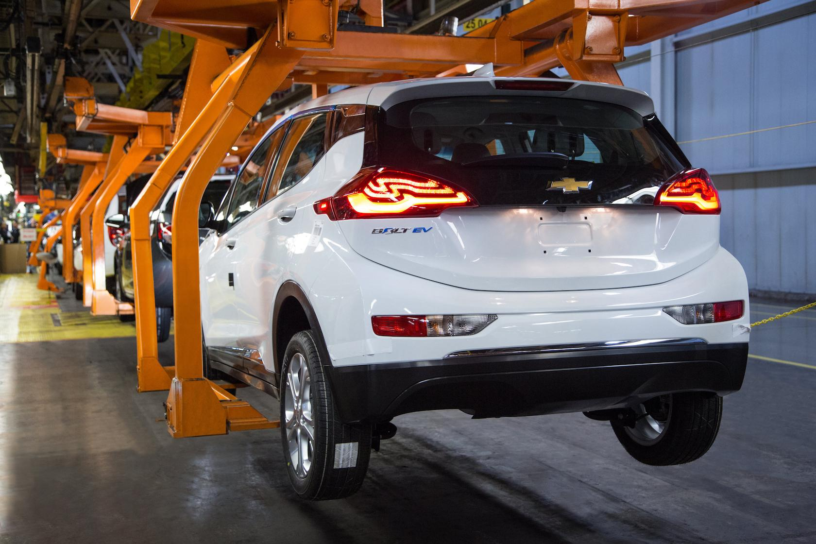 Chevrolet Bolt EV Pre-Production Vehicle Assembly