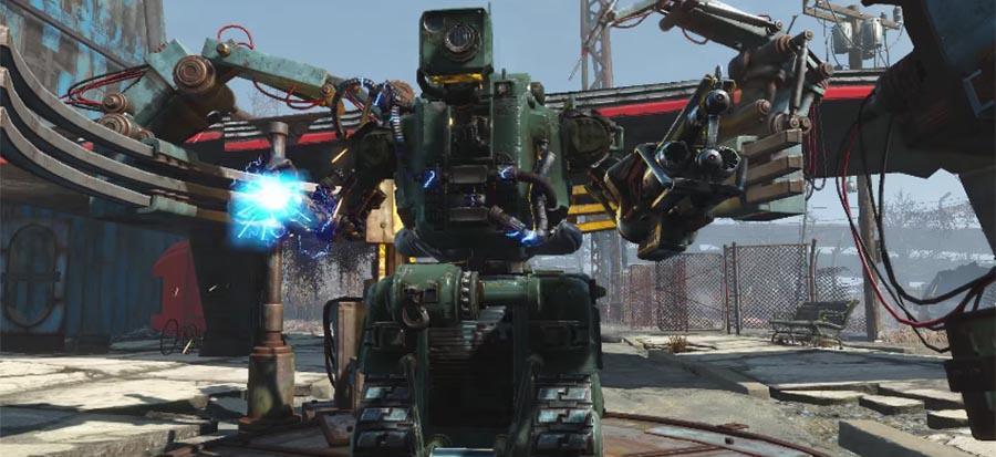 Fallout 4 'Automatron' DLC showcased in trailer - SlashGear