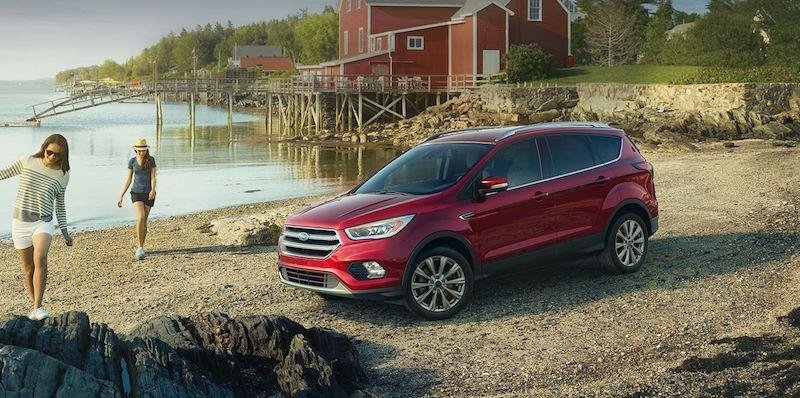 Ford's first CarPlay vehicle will be the 2017 Escape