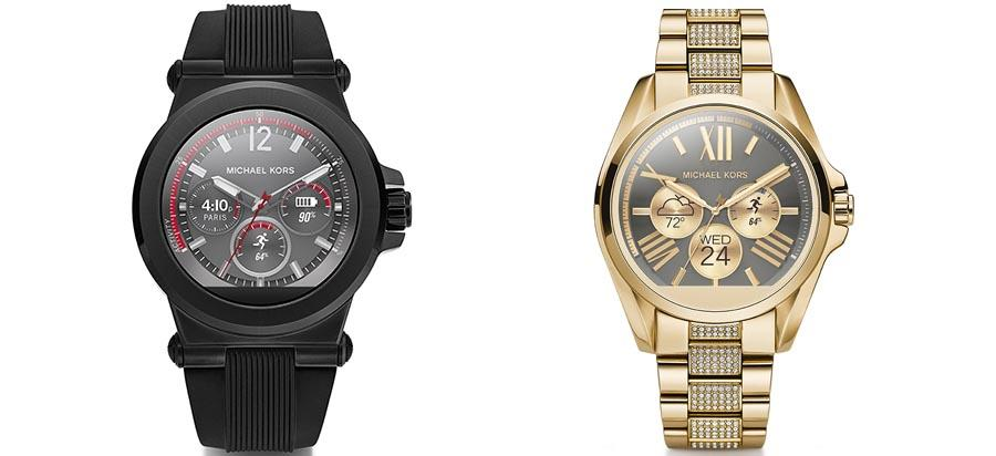 Michael Kors unveils two dazzling Android Wear watches