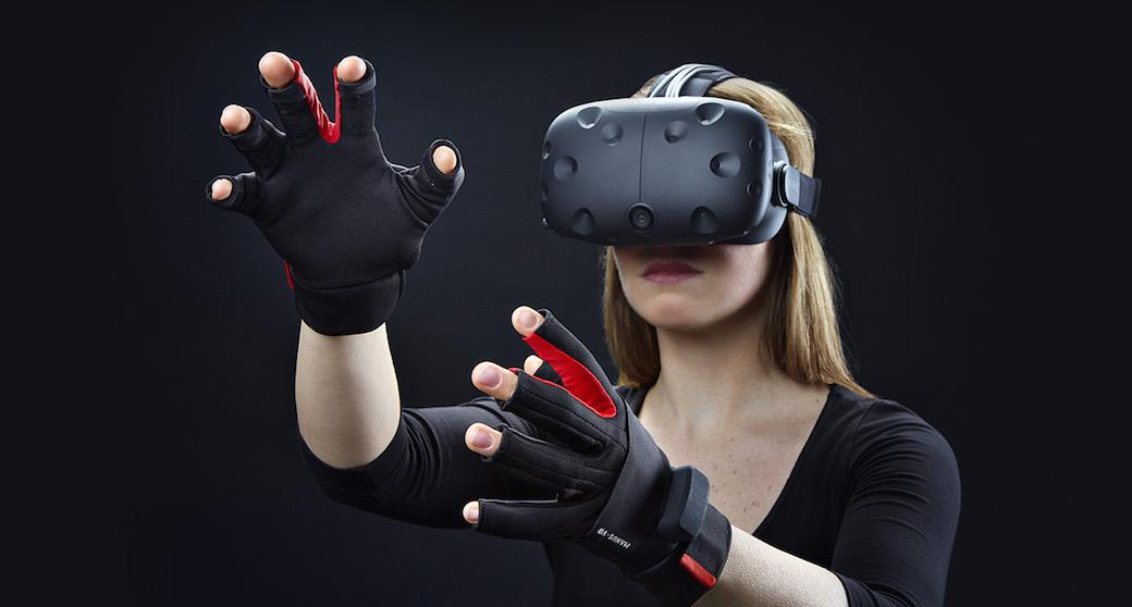 Manus VR gloves let you use your hands as Vive controllers
