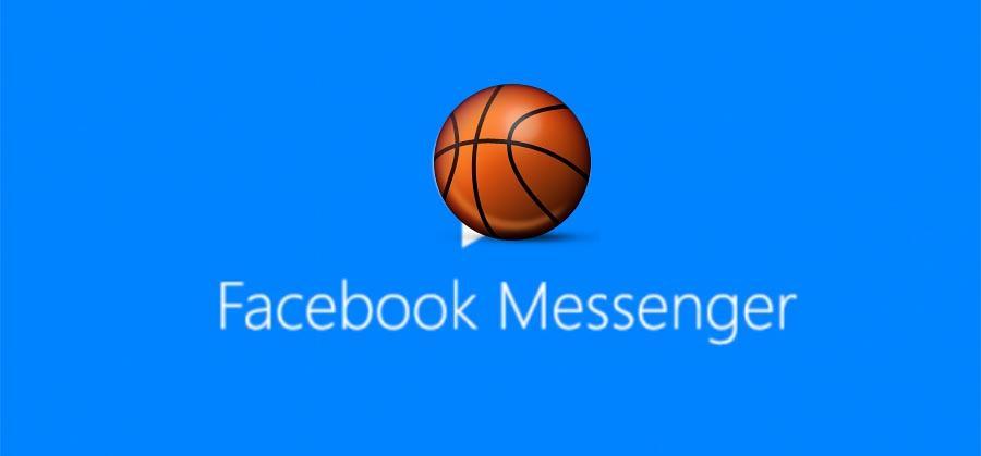 Facebook Messenger has a secret basketball game
