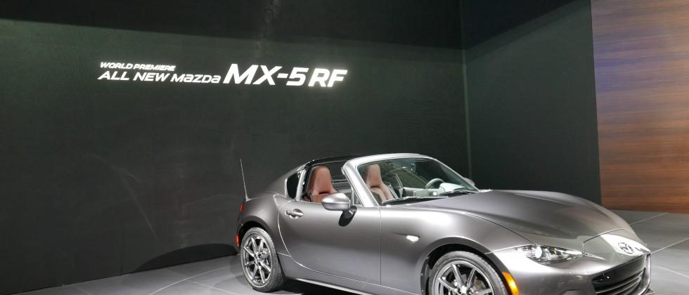2017 Mazda MX-5 Miata RF Drops Its Retractable Hardtop Just Before 2017 New York Auto Show