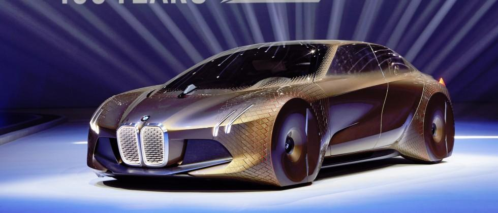 BMW Vision Next 100 concept promises driving and autonomy balance