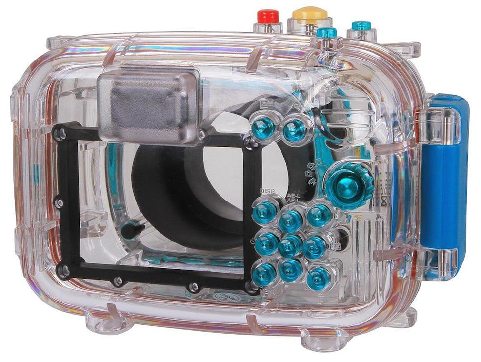 Take your DSLR underwater with Polaroid's housing cases