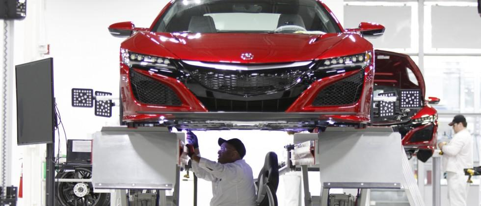 Acura's US NSX plant treats supercar like a chicken