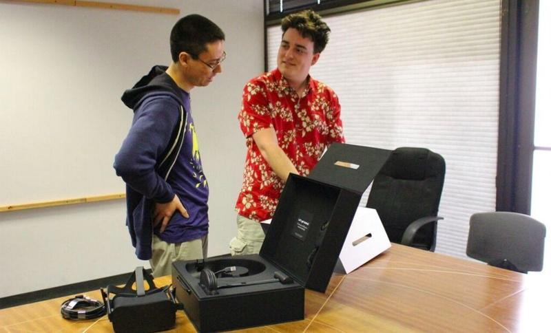 First Oculus Rift delivered in-person by founder Palmer Luckey