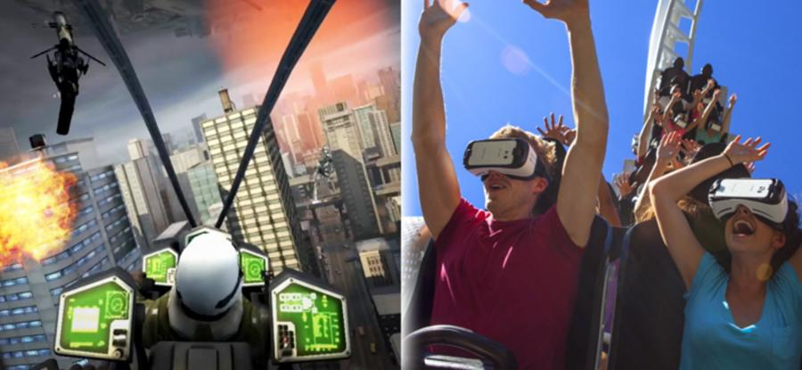 Six Flags adds VR experiences to its (real) rollercoasters