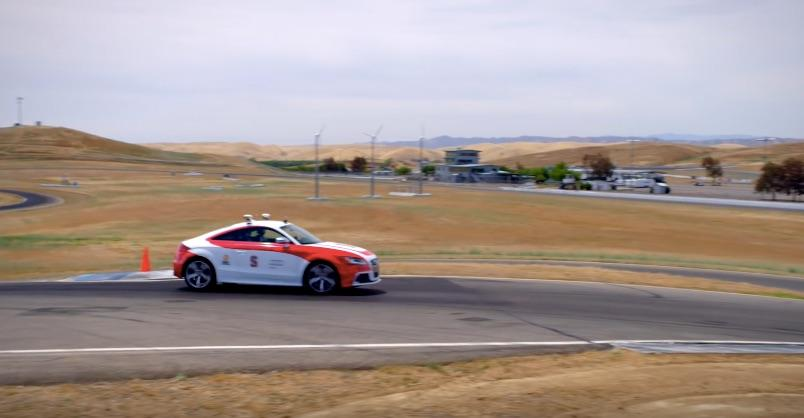 Stanford's autonomous Audi hits the track to improve its AI safety