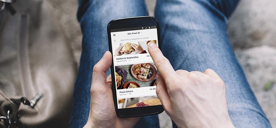 Uber launches a standalone food delivery app
