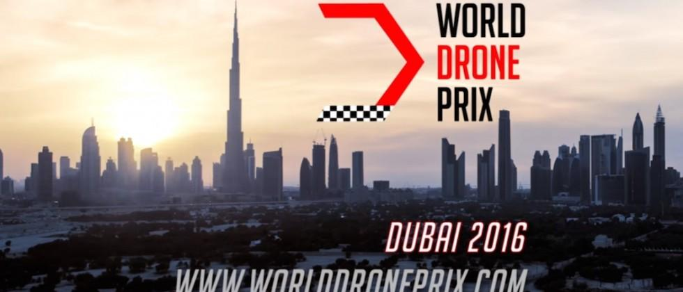 The first World Drone Prix is being held in Dubai next week
