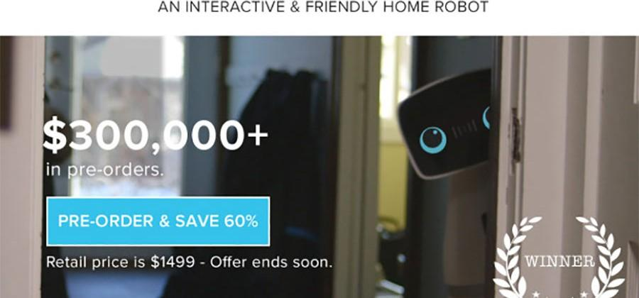 Aido home robot plays with kids and controls smart appliances