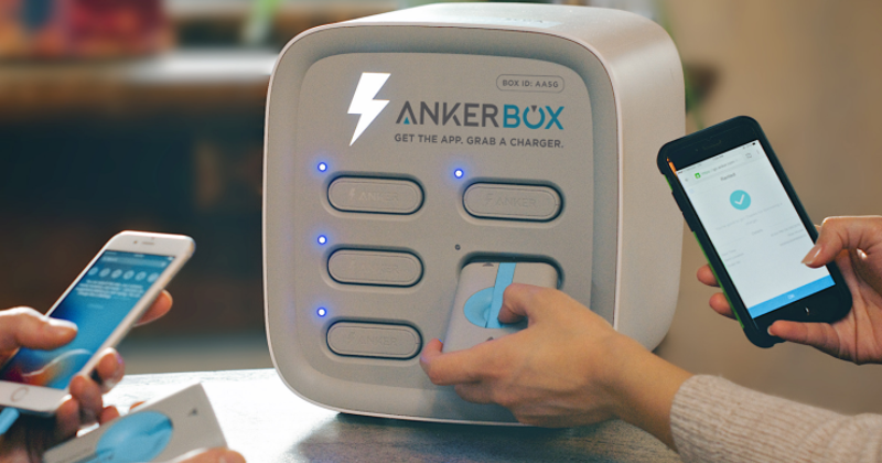 AnkerBox lets your rent a power bank instead of carrying one
