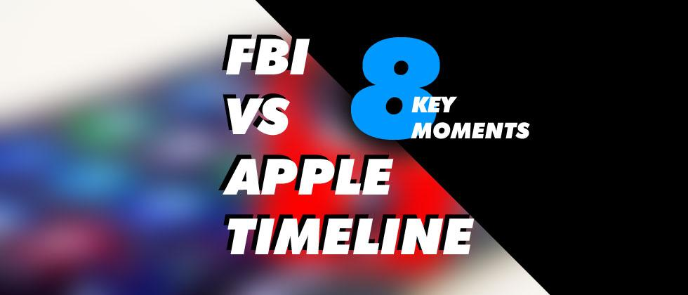 Catching up on Apple FBI case: an 8-point timeline
