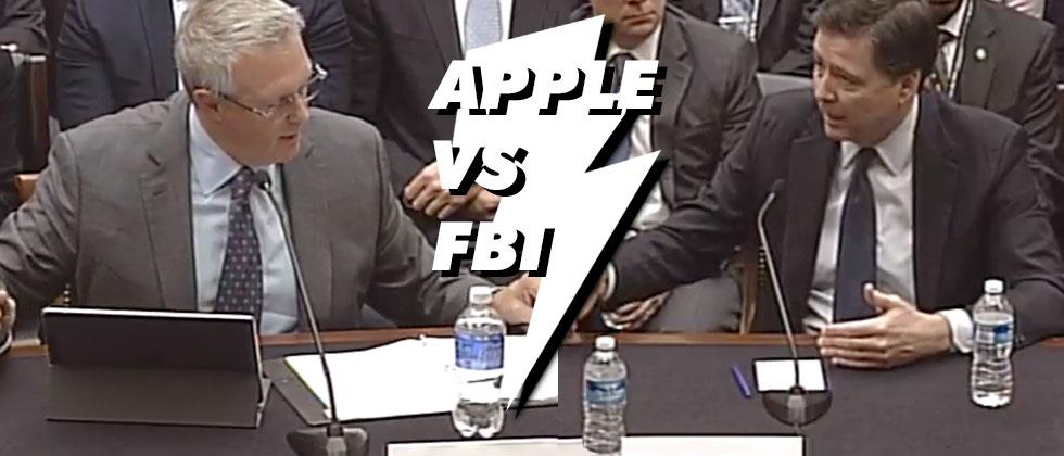 Apple speaks with congress, FBI continues fear-mongering
