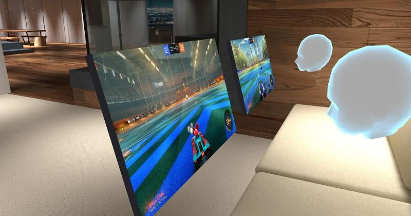 BigScreen puts your PC inside VR to share with others