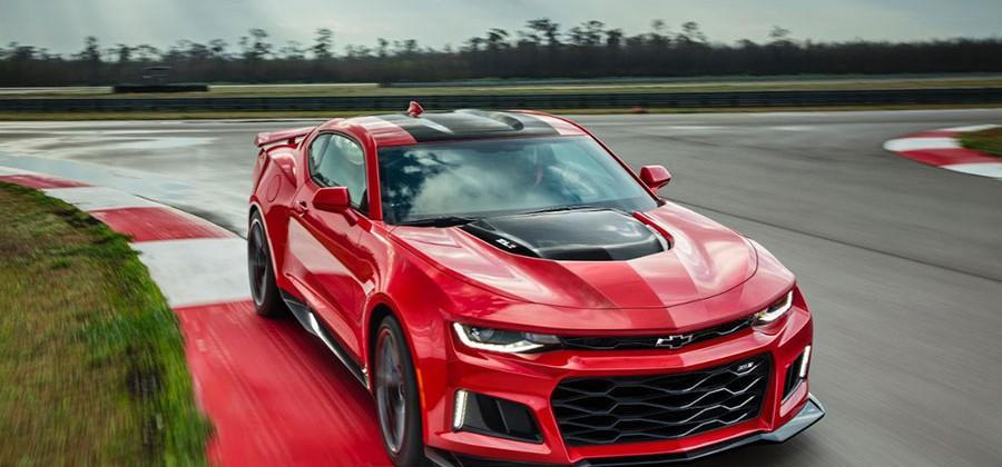 2017 Camaro ZL1 available with paddle shift 10-speed transmission, 640hp