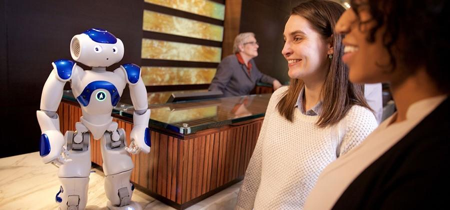 Hilton and IBM shows off Connie, an IBM Watson enabled robotic concierge