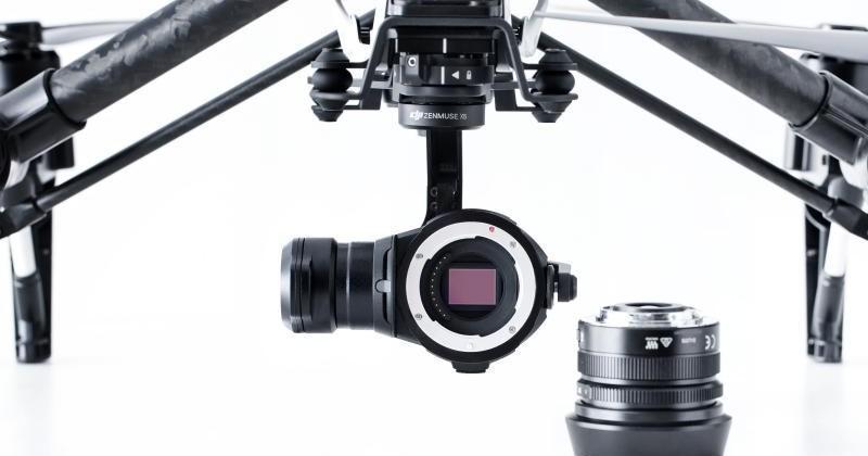 DJI Inspire 1 RAW 4K camera drone starts shipping next week