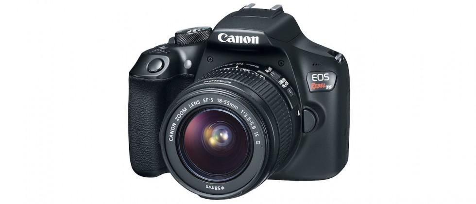 Canon Rebel T6 brings mild upgrade to entry-level DSLR
