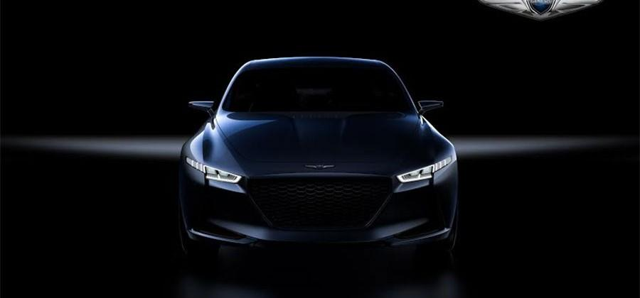 Genesis New York Concept is a hybrid sport sedan with 241bhp