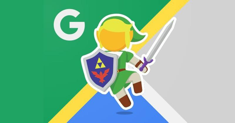 Link takes over Google Maps for Legend of Zelda's 30th anniversary