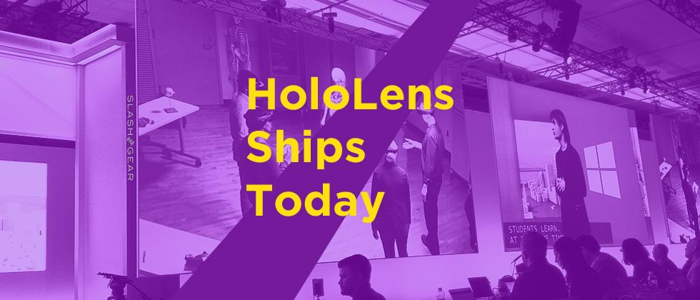 HoloLens Dev Edition ships today with a tiny Buzz Aldrin