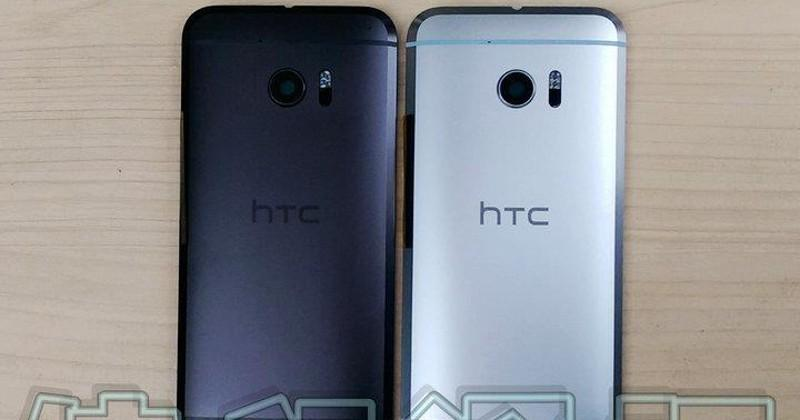 HTC 10 gets leaked in gray, black, a bit of its innards