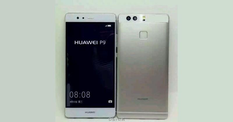 Huawei P9 poses for an unofficial photoshoot