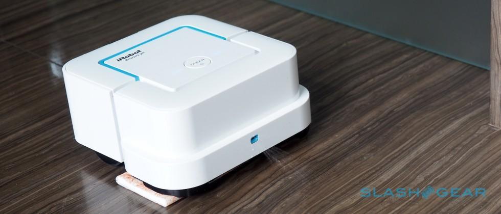 iRobot Braava Jet is a robot maid for your bathroom floor