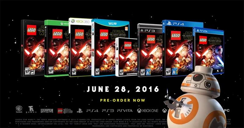 LEGO Star Wars: The Force Awakens gets voice acting, new combat mechanics