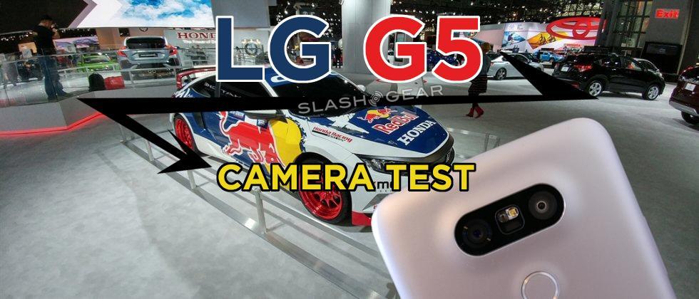 LG G5 Camera samples from the NY Auto Show