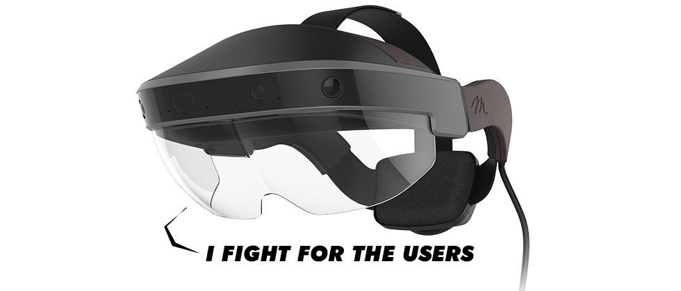 Meta 2 Augmented Reality Headset Dev Kit release : the Oculus of AR