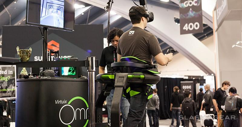 Hands-on with the Virtuix Omni – A step in the right direction for VR
