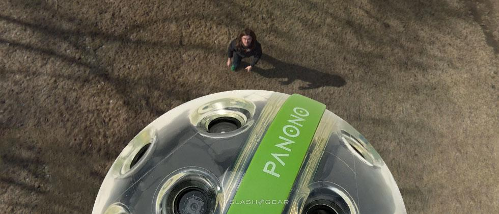 Panono Review : Throwable Panoramic Ball Camera in the house