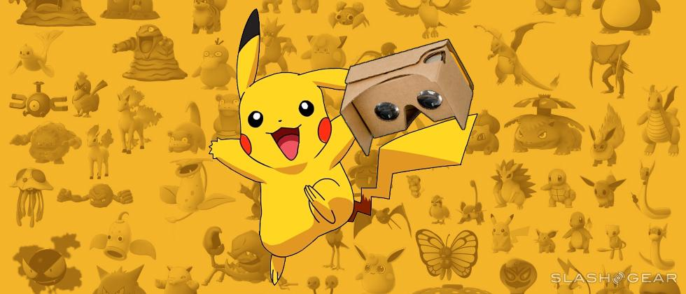 Pokemon Go VR with Google Cardboard confirmed
