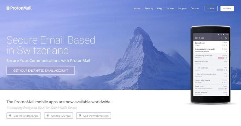 Encrypted ProtonMail opens service to public, mobile apps ready