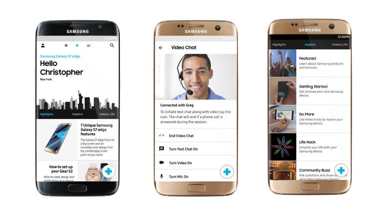 Samsung Live Chat Support
