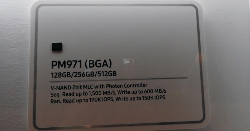 Samsung's first BGA SSD boasts 1500 MB/s speeds