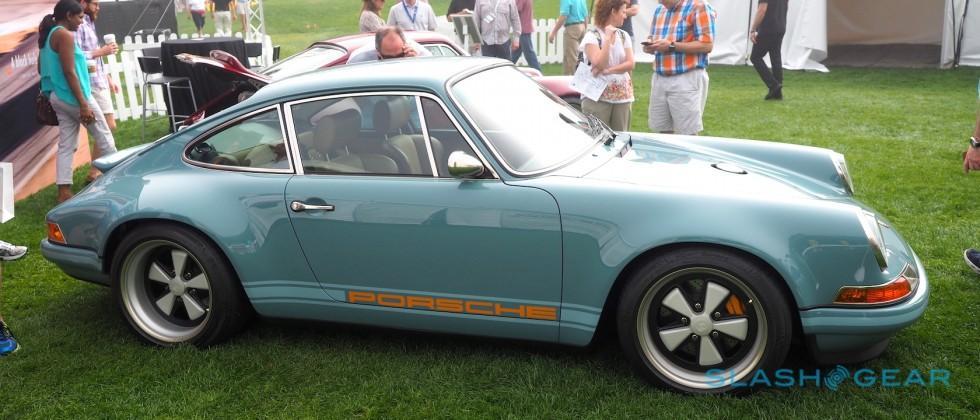 This latest Singer reimagined Porsche 911 is Amelia automotive art