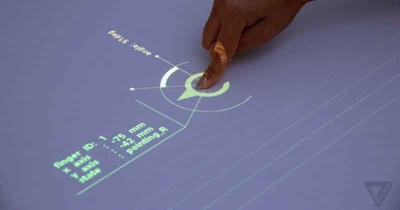 Sony demos projector that makes any table interactive