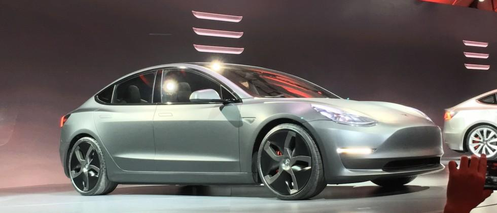 Revealed: This is the Tesla Model 3