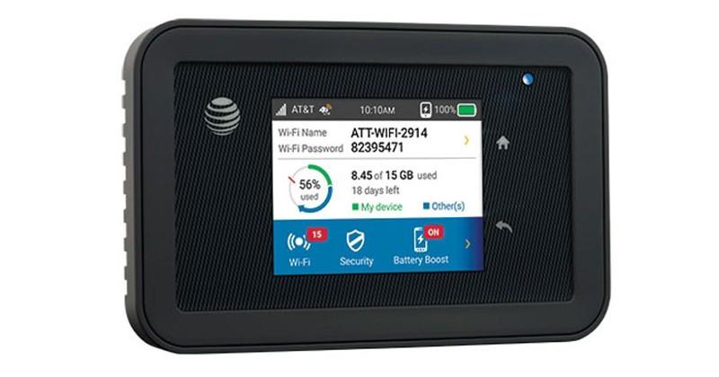 AT&T Unite Explore hotspot offers security in a rugged body